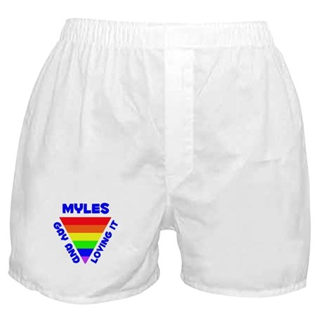 Myles Gay Pride (#005) Boxer Shorts