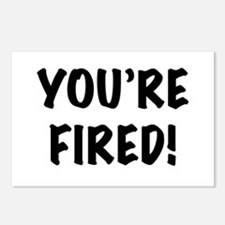 You're Fired Postcards (Package of 8)