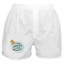 Fresh B.O. Barack Obama Boxer Shorts