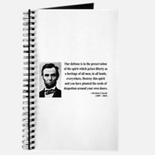 Abraham Lincoln 4 Journal