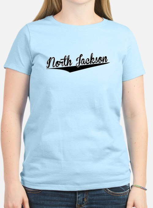 North Jackson, Retro, T-Shirt