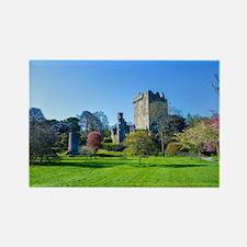 Unique Blarney castle Rectangle Magnet