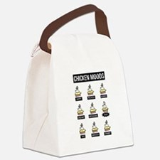 Chicken Moods Canvas Lunch Bag