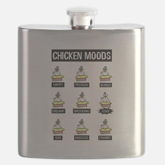 Chicken Moods Flask