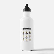 Chicken Moods Water Bottle