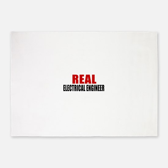 Real Electrical engineer 5'x7'Area Rug