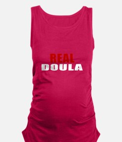 Real Doula Maternity Tank Top