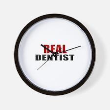 Real Dentist Wall Clock