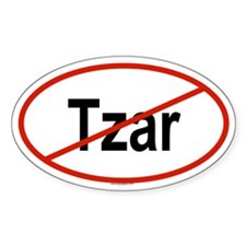 TZAR Oval Decal