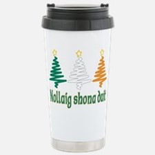 Cute Nollaig shona Travel Mug