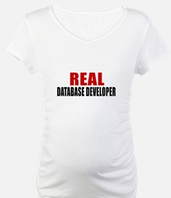 Real Database developer Shirt