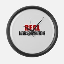 Real Database administrator Large Wall Clock