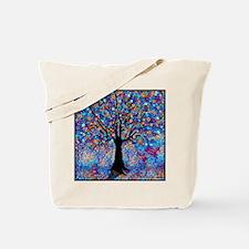 Colorful Tree of Life Art Print Tote Bag