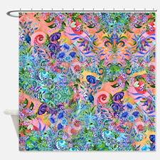 Gorgeous Flower Garden Bath Shower Curtain