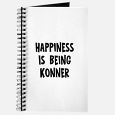 Happiness is being Konner Journal