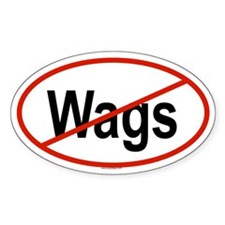 WAGS Oval Decal