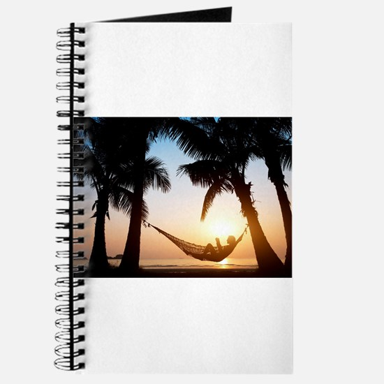 paradise palms vacation summer chill relax Journal