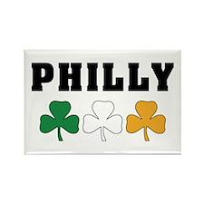 Philly Irish Shamrocks Rectangle Magnet (10 pack)