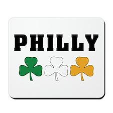 Philly Irish Shamrocks Mousepad