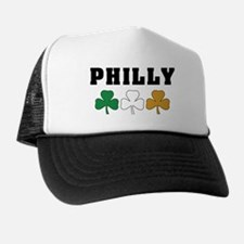 Philly Irish Shamrocks Trucker Hat