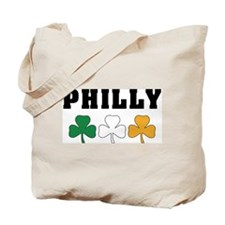 Philly Irish Shamrocks Tote Bag