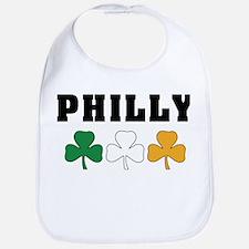 Philly Irish Shamrocks Bib