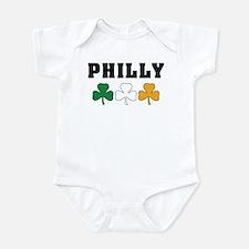 Philly Irish Shamrocks Infant Bodysuit