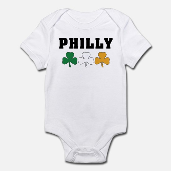 Philly Irish Shamrocks Infant Bodysuit