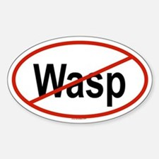 WASP Oval Decal