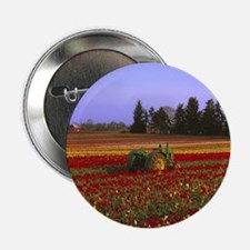 """Field of Flowers 2.25"""" Button (10 pack)"""