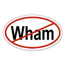 WHAM Oval Decal
