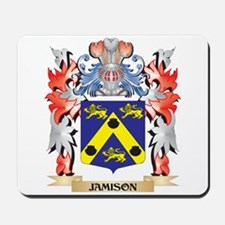 Jamison Coat of Arms - Family Crest Mousepad