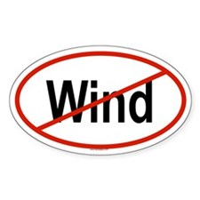 WIND Oval Decal