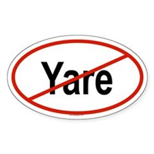 YARE Oval Decal