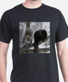 Squirrels chatting T-Shirt