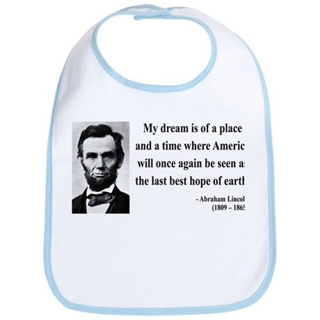 Abraham Lincoln 5 Bib