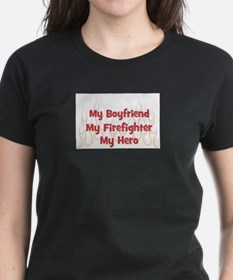 My Boyfriend My Firefighter Ash Grey T-Shirt