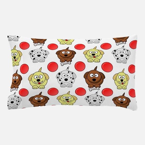 Cute Dalmatians Pillow Case