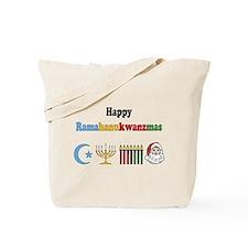 Ramahanukwanzmas Tote Bag