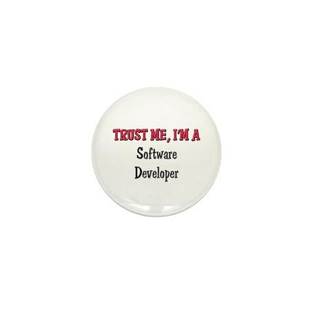 Trust Me I'm a Software Developer Mini Button (10