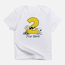 Peanuts Personalized 2nd Birthday T-Shirt