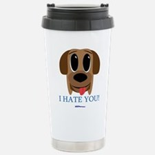 Cute I love dogs Travel Mug
