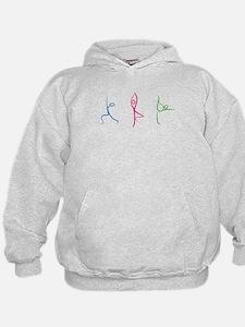 Yoga Poses Hoodie Sweatshirt
