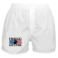 Freedom Isn't Free Boxer Shorts