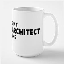 Landscape Architect costume Mugs