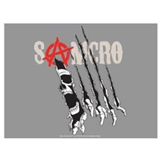 Samcro Torn Wall Art Poster