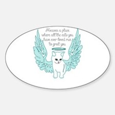 Heaven a place where all the cats you have Decal