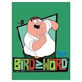 Bird word Posters