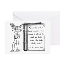 Shaw on Censorship<br> Greeting Cards (Package of
