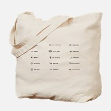 Proofing Marks Tote Bag